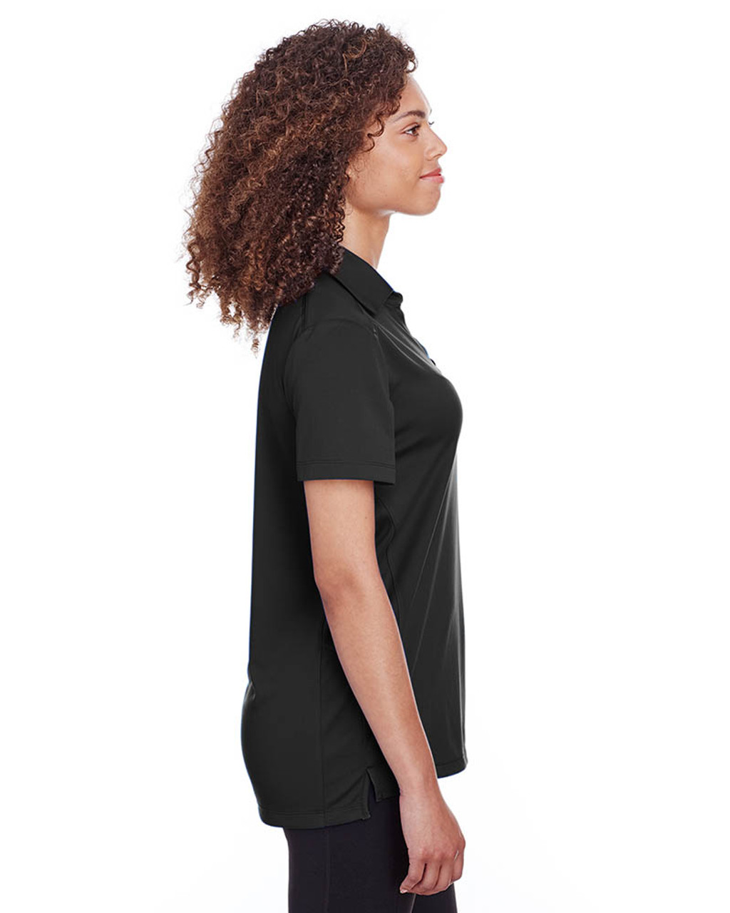 Black - Side, S16519 Spyder Ladies' Freestyle Polo | BlankClothing.ca