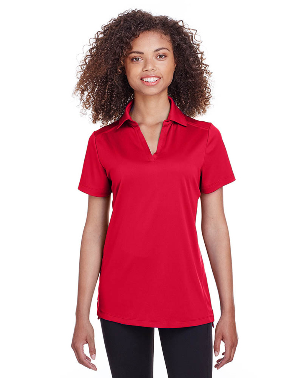 Red - S16519 Spyder Ladies' Freestyle Polo | BlankClothing.ca