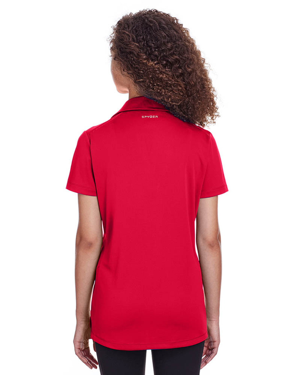 Red - Back, S16519 Spyder Ladies' Freestyle Polo | BlankClothing.ca
