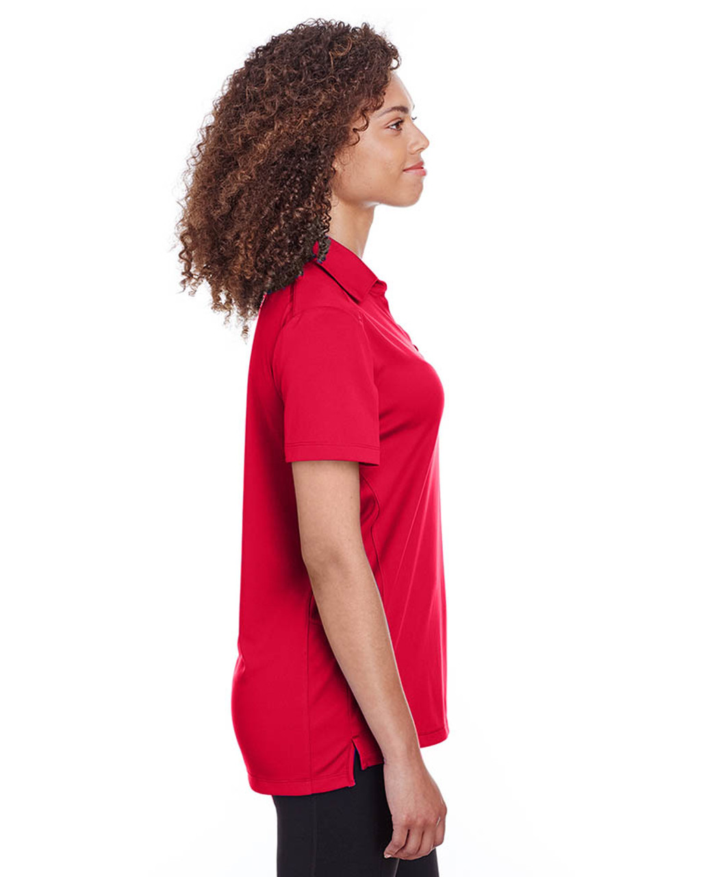 Red - Side, S16519 Spyder Ladies' Freestyle Polo | BlankClothing.ca