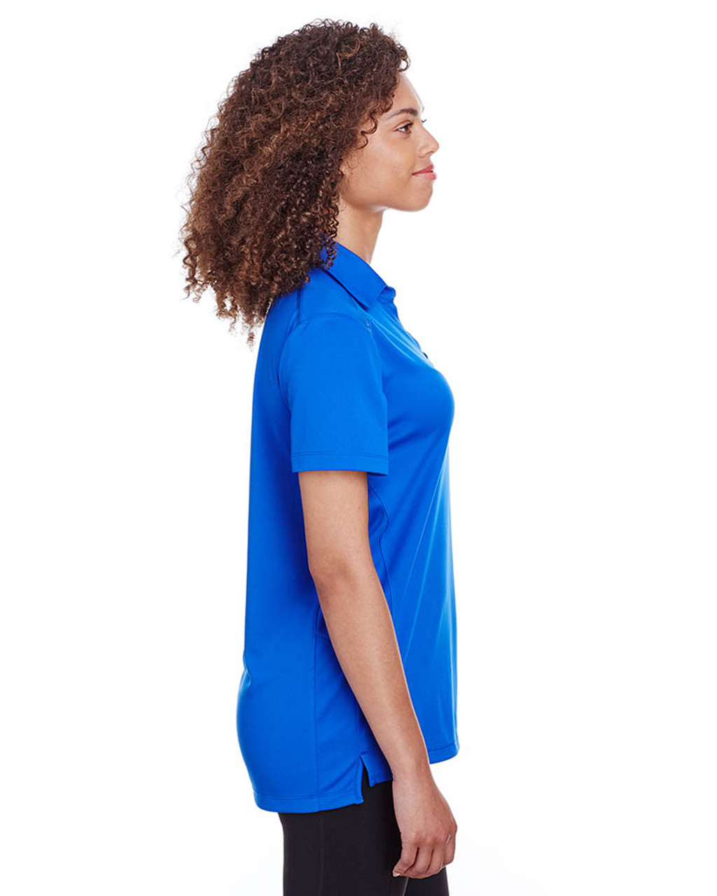 Royal - Side, S16519 Spyder Ladies' Freestyle Polo | BlankClothing.ca