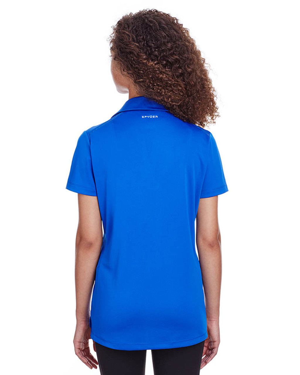Royal - Back, S16519 Spyder Ladies' Freestyle Polo | BlankClothing.ca
