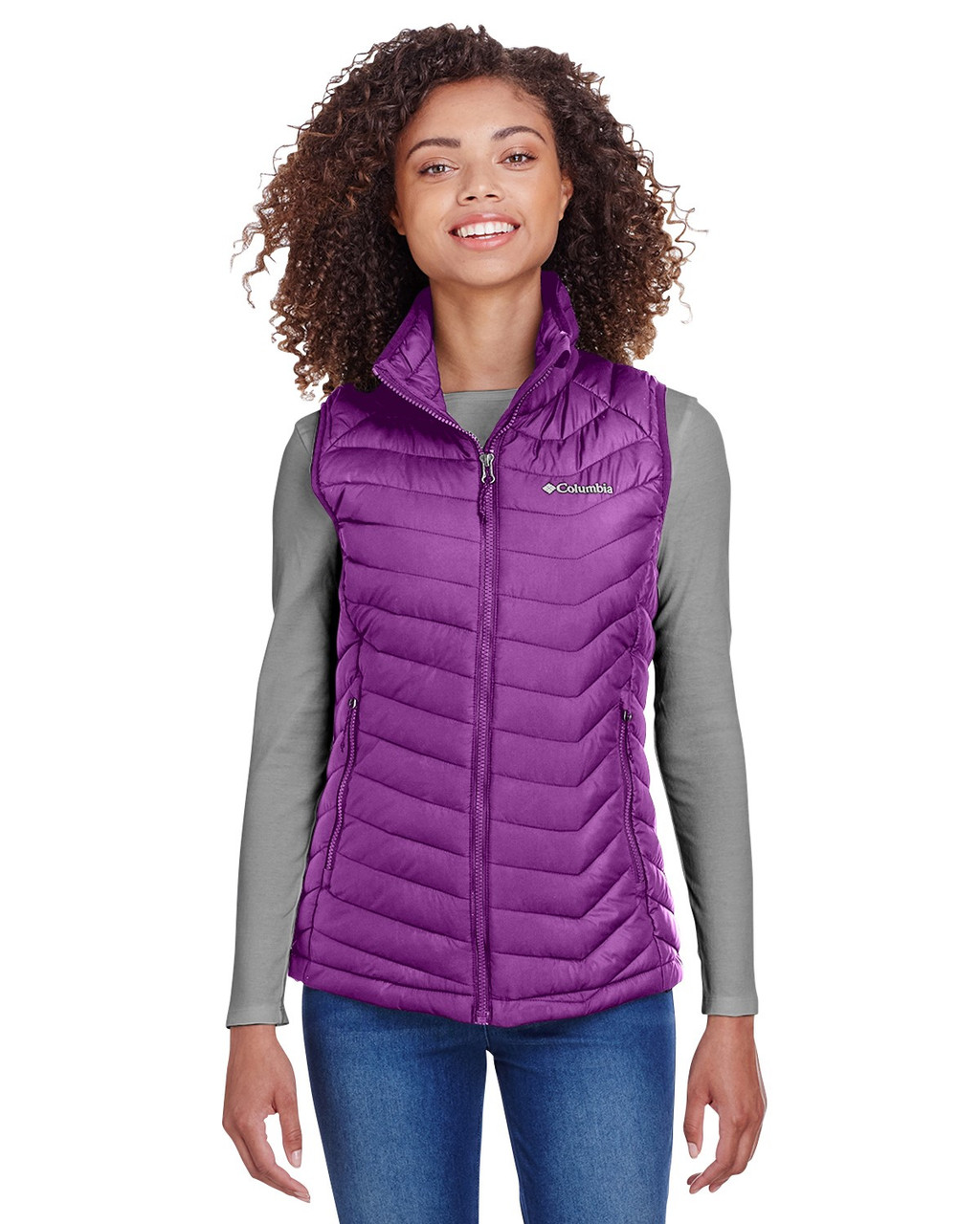 Wild Iris - 1757411 Columbia Ladies' Powder Lite Vest | BlankClothing.ca