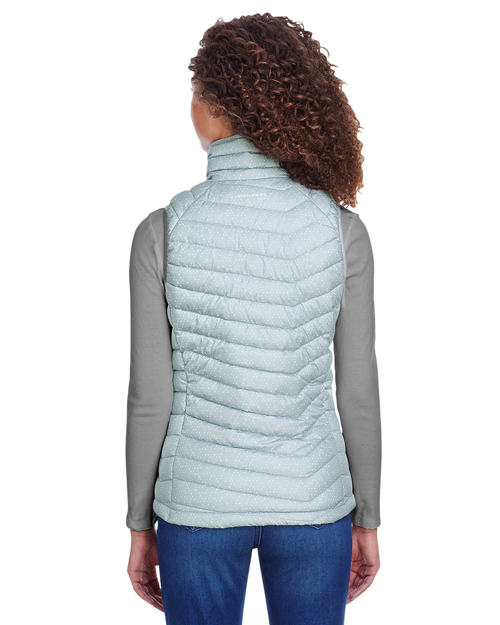 Cypress Grey - 1757411 Columbia Ladies' Powder Lite Vest | BlankClothing.ca