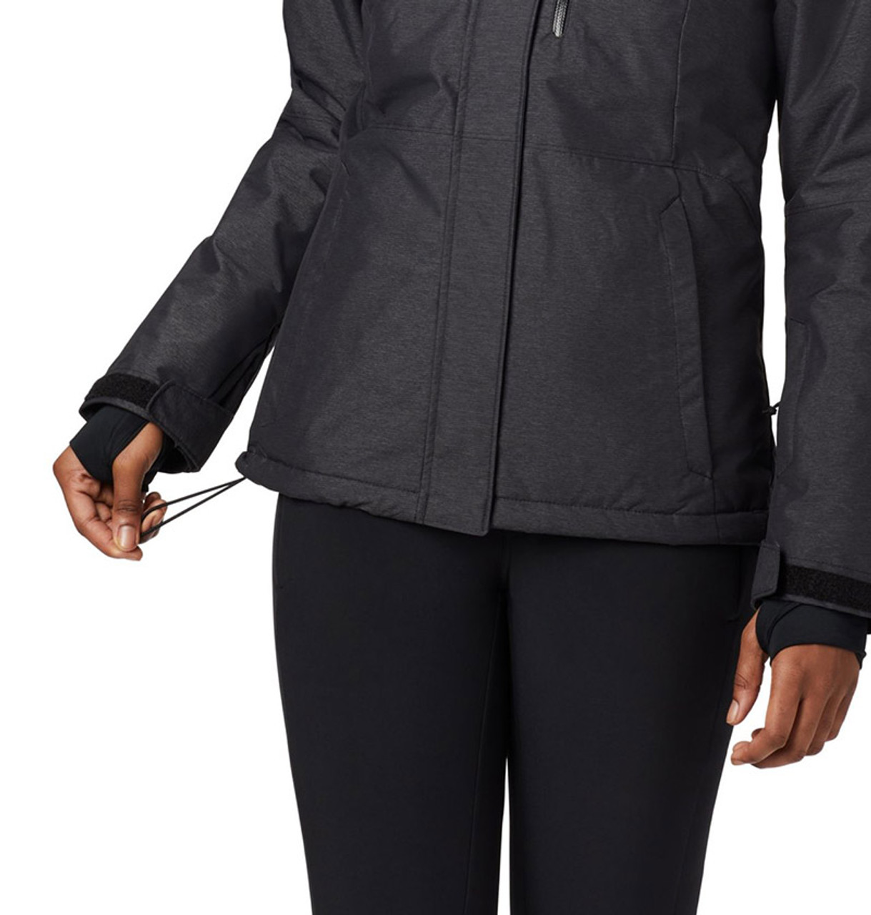 Black - detail, 1562241 Columbia Ladies' Alpine Action™ Oh Jacket | Blankclothing.ca