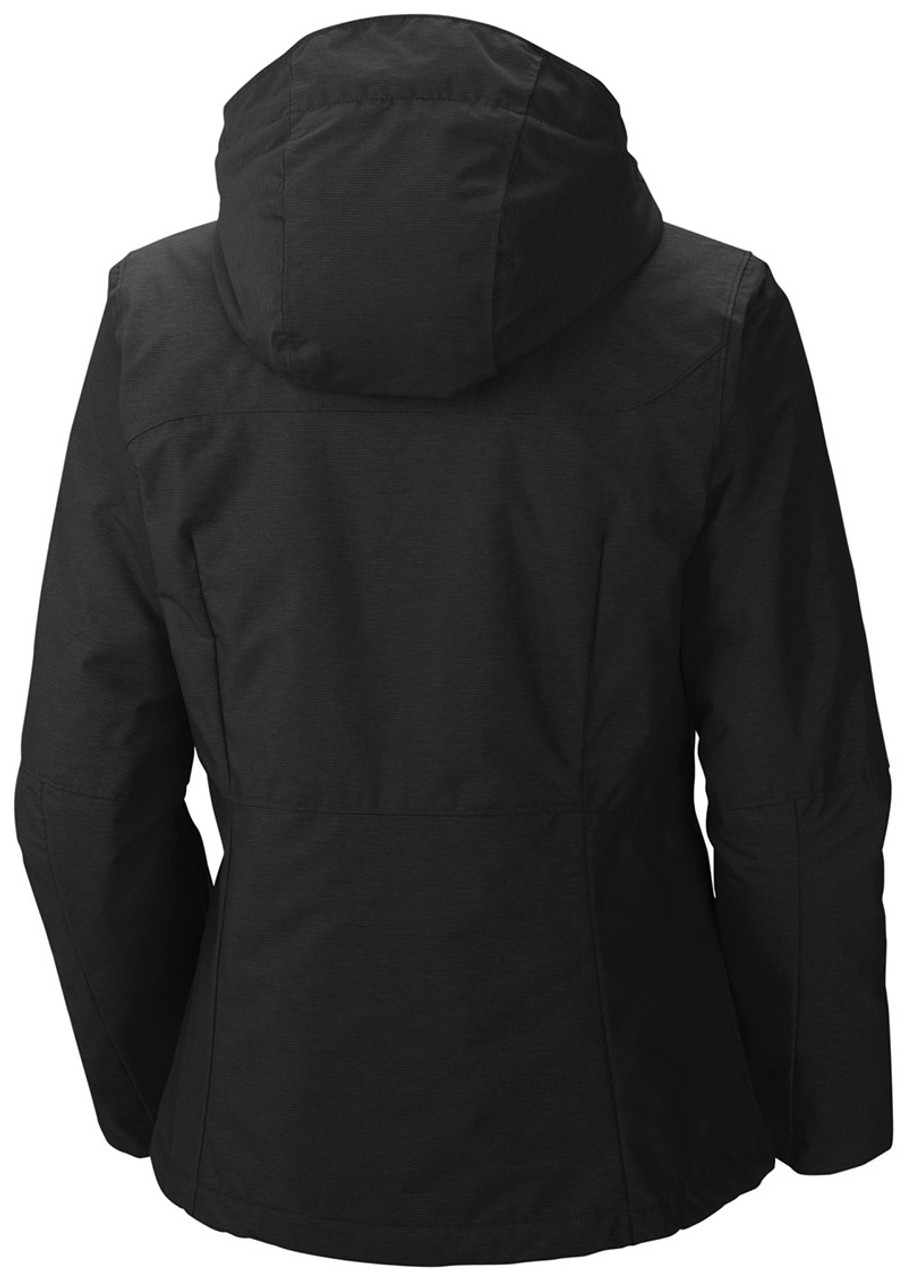 Black - back, 1562241 Columbia Ladies' Alpine Action™ Oh Jacket | Blankclothing.ca