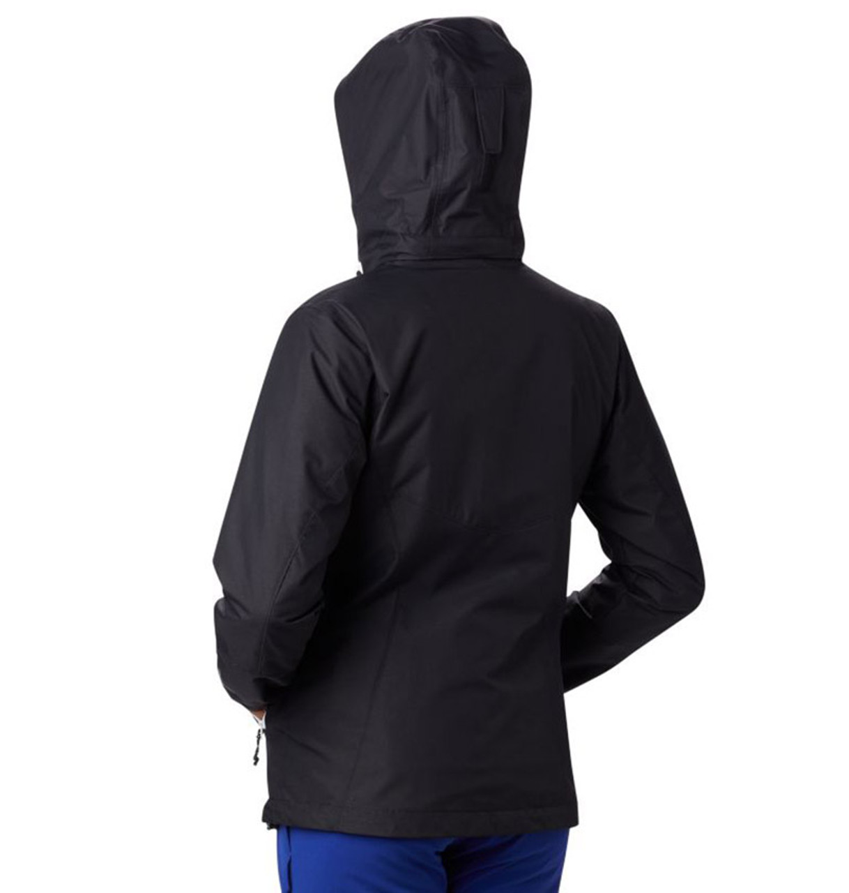 Black - back, 1799241 Columbia Ladies' Bugaboo™ II Fleece Interchange Jacket | BlankClothing.ca