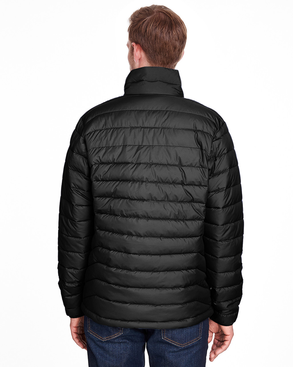 Black - Back, 1698001 Columbia Men's Powder Lite™ Jacket | Blankclothing.ca