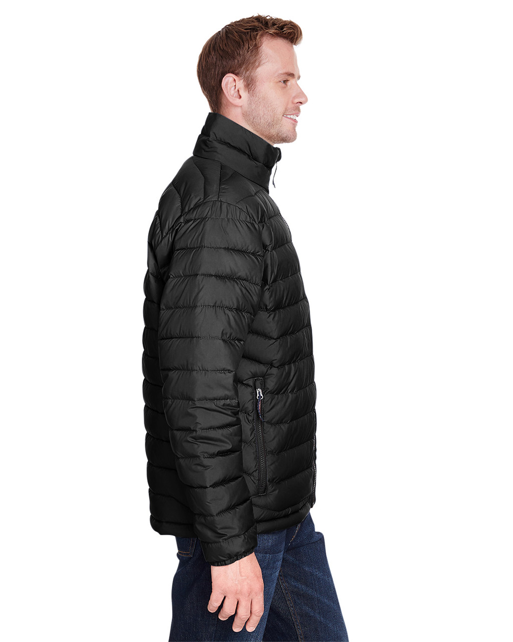 Black - Side, 1698001 Columbia Men's Powder Lite™ Jacket | Blankclothing.ca