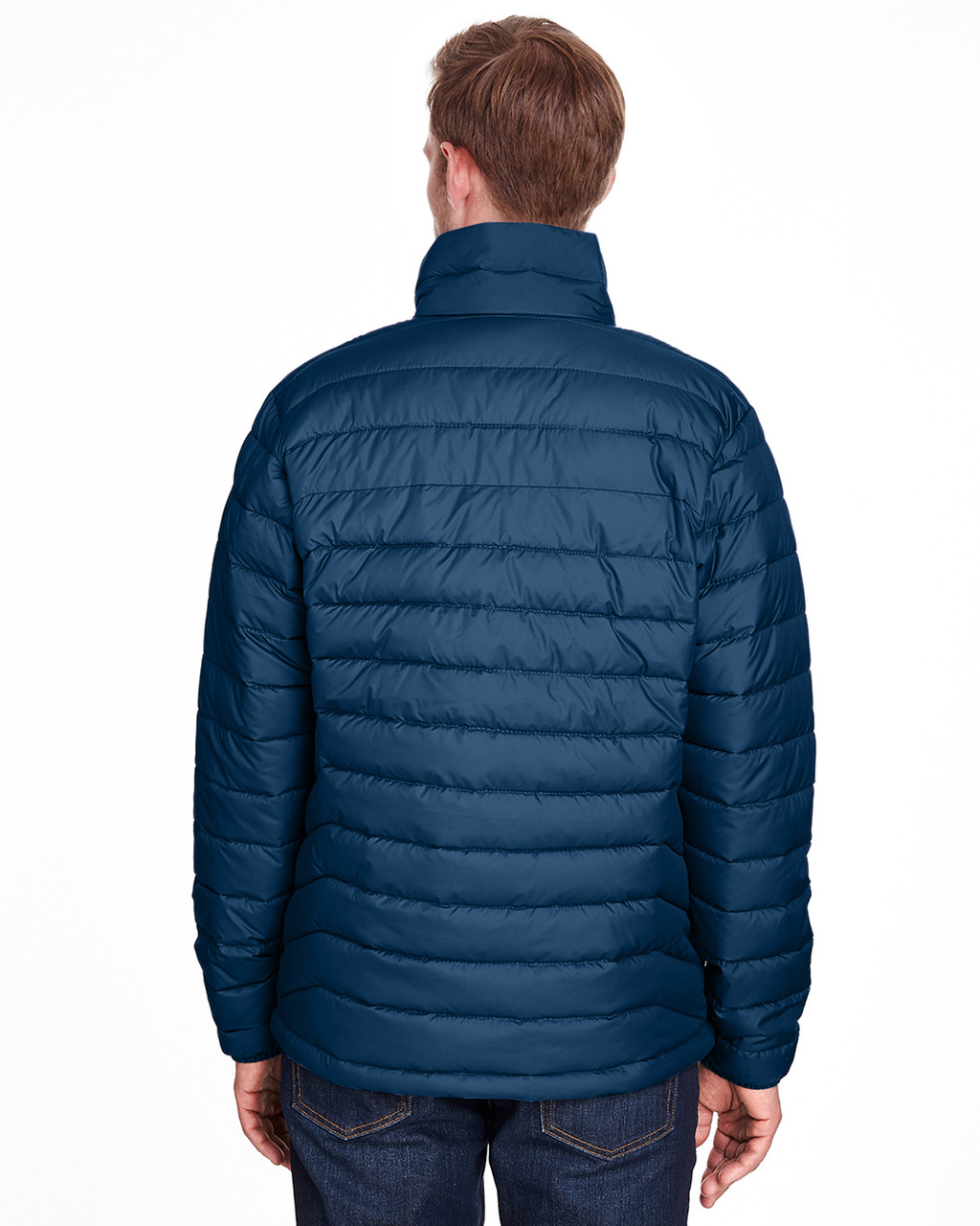 Collegiate Navy - Back, 1698001 Columbia Men's Powder Lite™ Jacket | Blankclothing.ca