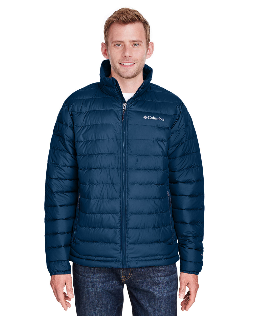 Collegiate Navy - 1698001 Columbia Men's Powder Lite™ Jacket | Blankclothing.ca