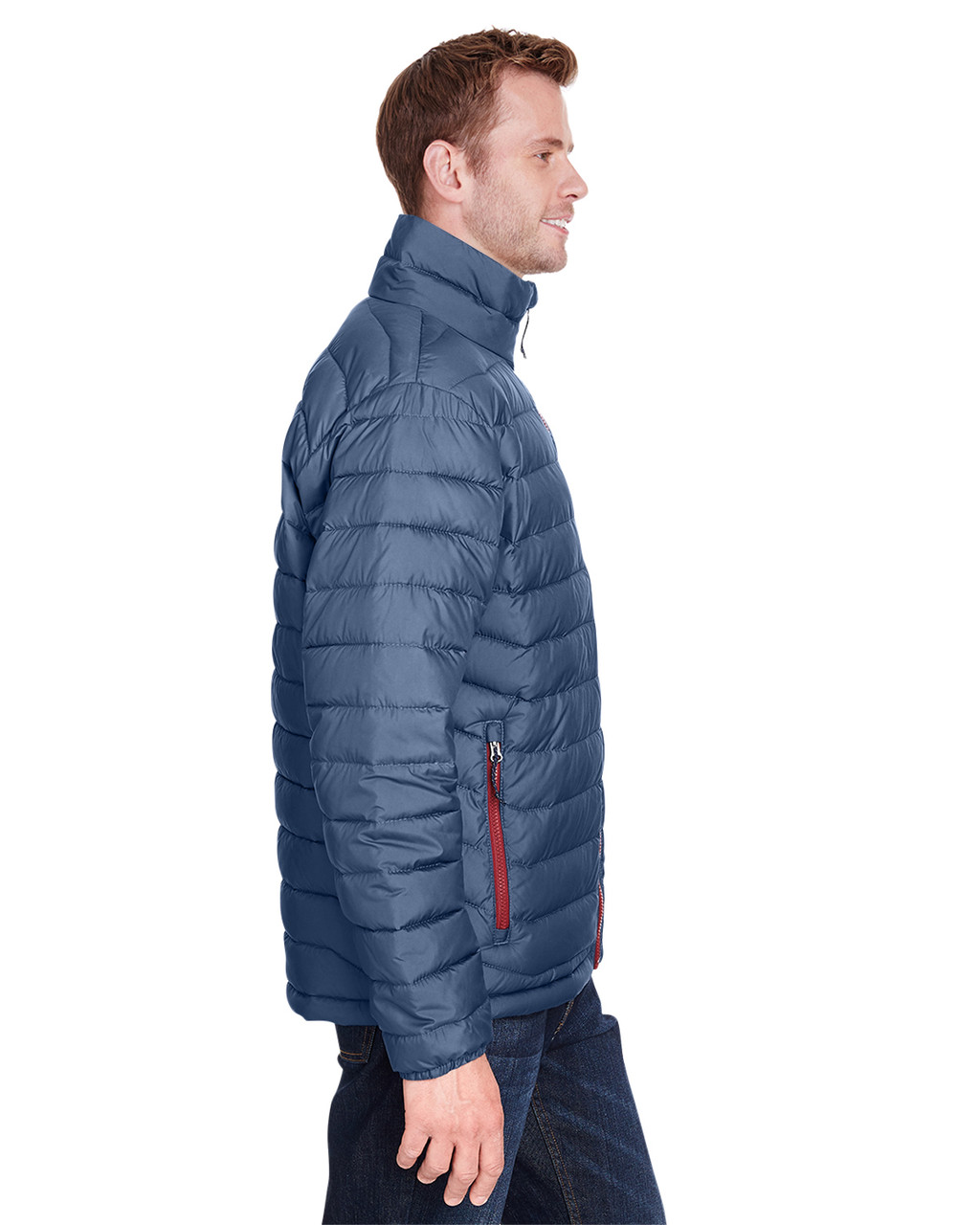 Dark Mountain - Side, 1698001 Columbia Men's Powder Lite™ Jacket | Blankclothing.ca
