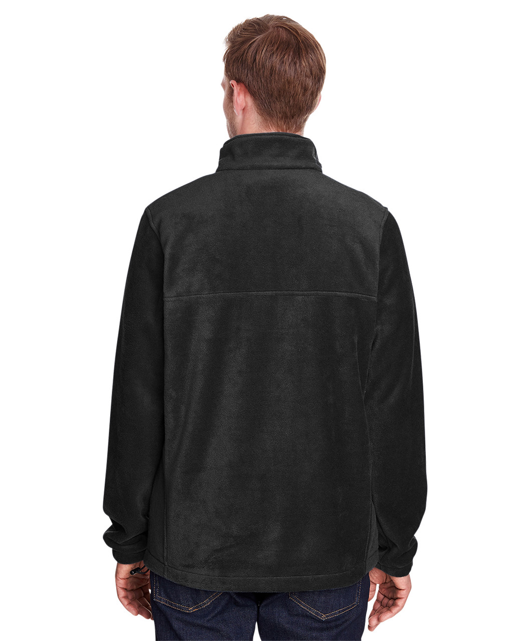 Black - Back, 1620191 Columbia Men's ST-Shirts Mountain™ Half-Zip Fleece Jacket | Blankclothing.ca