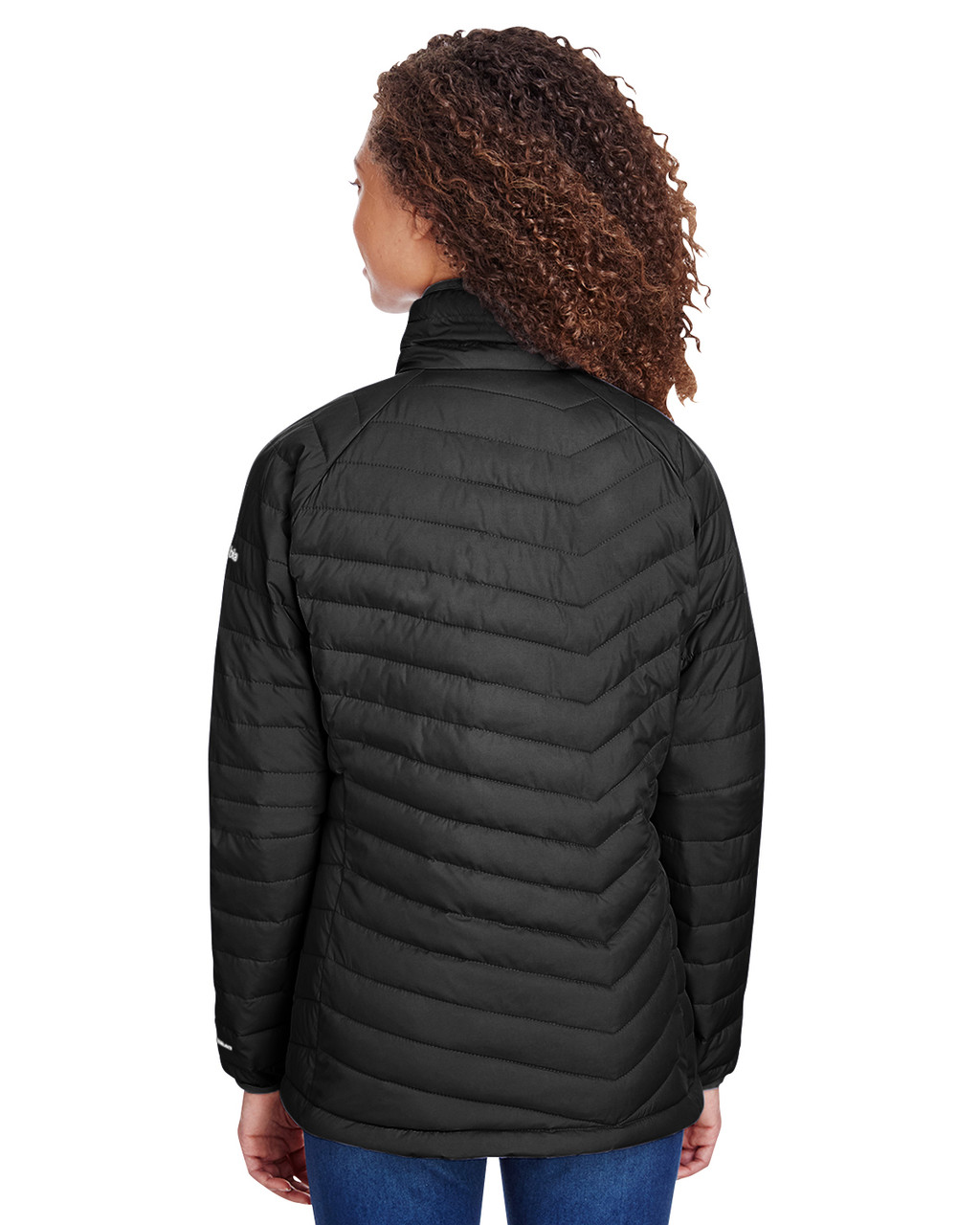 Black - Back, 1699061 Columbia Ladies' Powder Lite™ Jacket | Blankclothing.ca