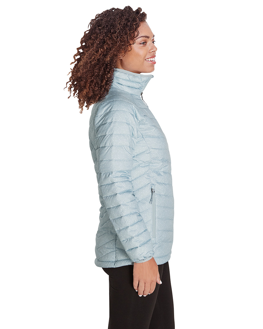 Cirrus Grey Sparkler Print - Side, 1699061 Columbia Ladies' Powder Lite™ Jacket | Blankclothing.ca
