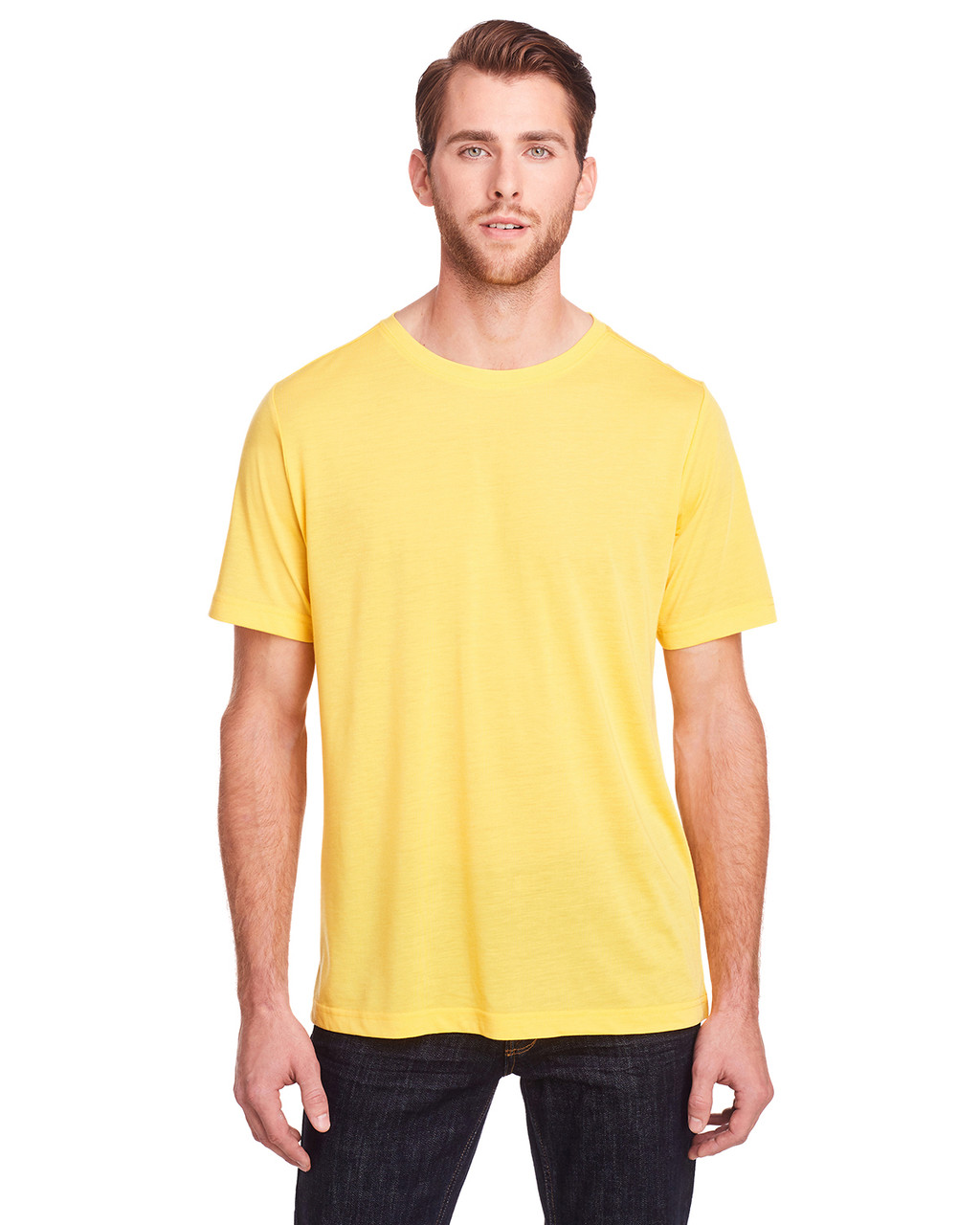 Campus Gold - CE111 Core 365 Adult Fusion ChromaSoft Performance T-Shirt | BlankClothing.ca