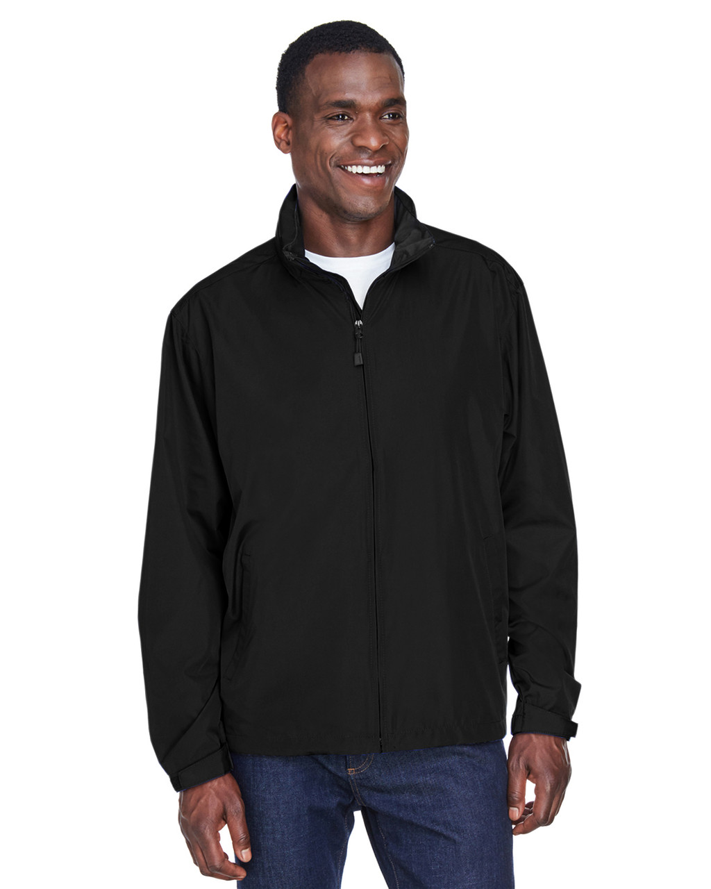 Black - 88083 North End Men's Techno Lite Jacket | BlankClothing.ca
