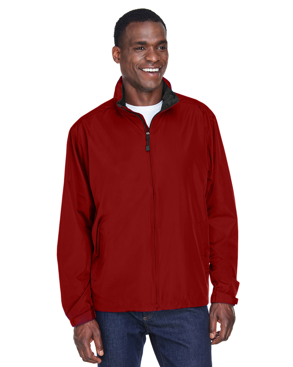 Molten Red - 88083 North End Men's Techno Lite Jacket | BlankClothing.ca