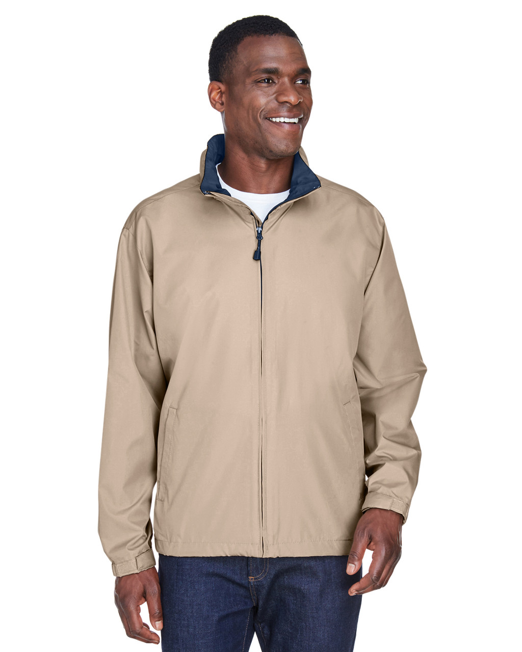 Putty - 88083 North End Men's Techno Lite Jacket | BlankClothing.ca