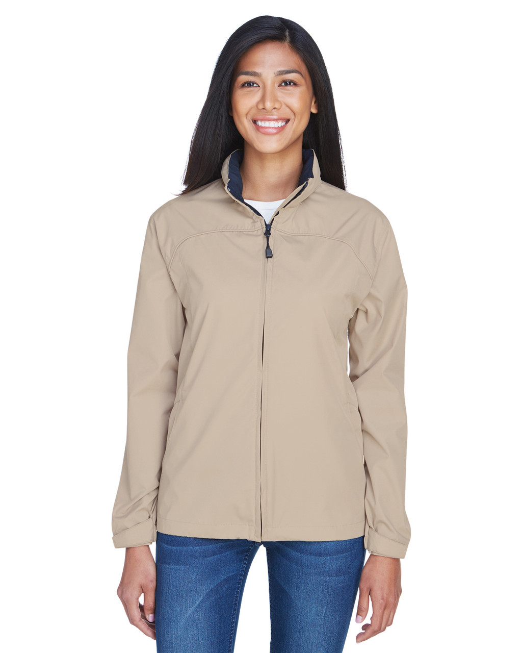 Putty - 78032 North End Ladies' Techno Lite Jacket | BlankClothing.ca