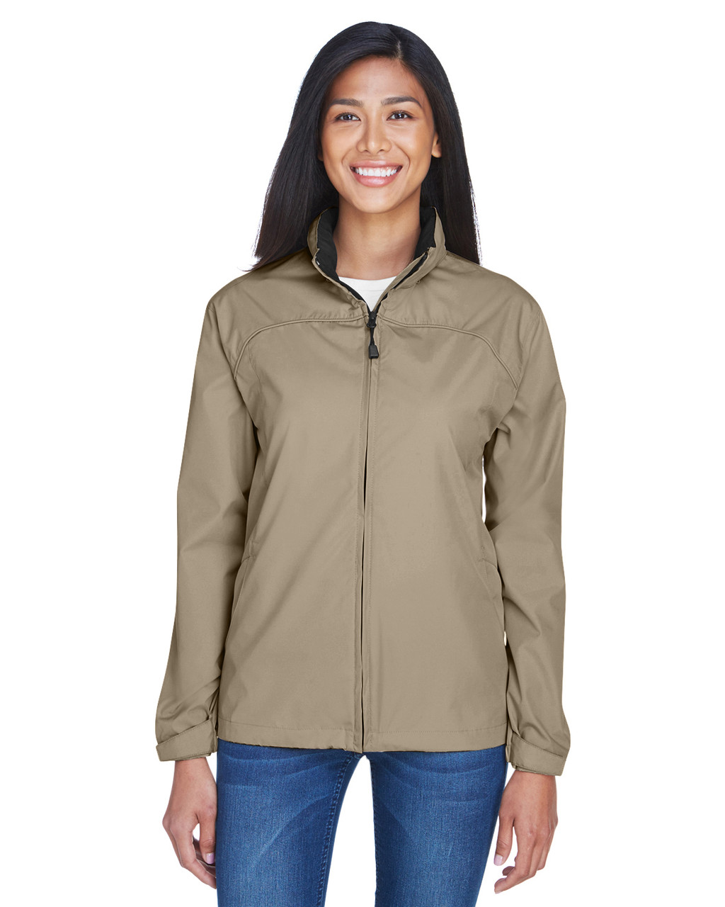 Putty Black - 78032 North End Ladies' Techno Lite Jacket | BlankClothing.ca