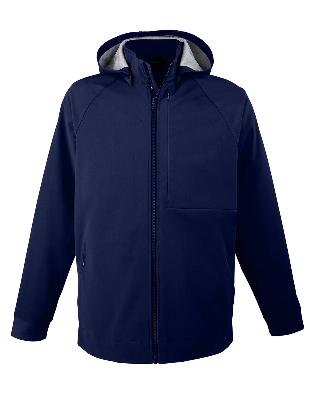 Classic Navy - NE718 North End Men's City Hybrid Shell Jacket| BlankClothing.ca