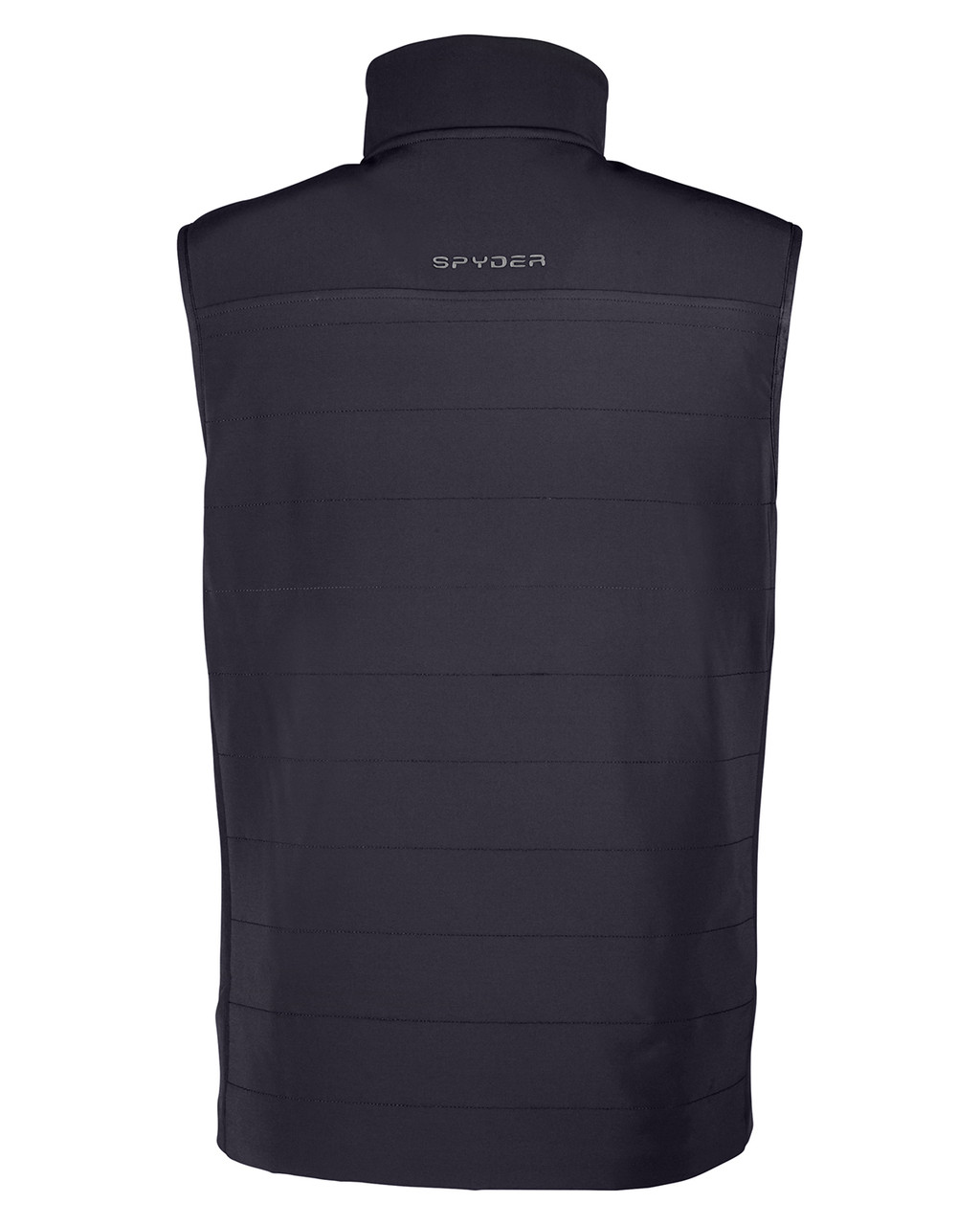 Black - Back, S17028 Spyder Men's Transit Vest | BlankClothing.ca