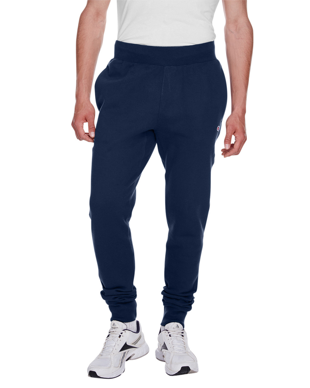Navy - RW25 Champion Men's Reverse Weave Jogger Pant | BlankClothing.ca