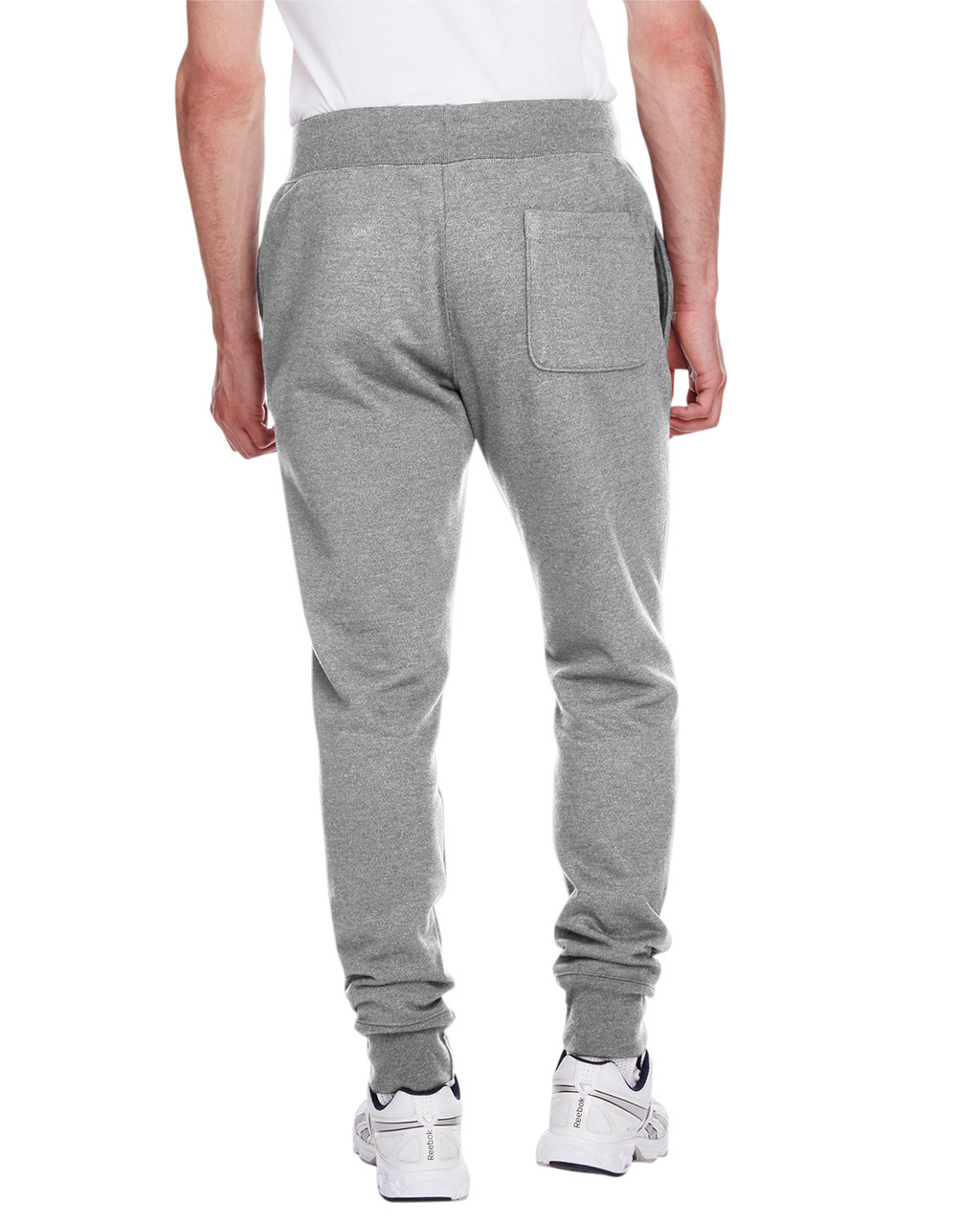 Oxford Grey - Back, RW25 Champion Men's Reverse Weave Jogger Pant | BlankClothing.ca