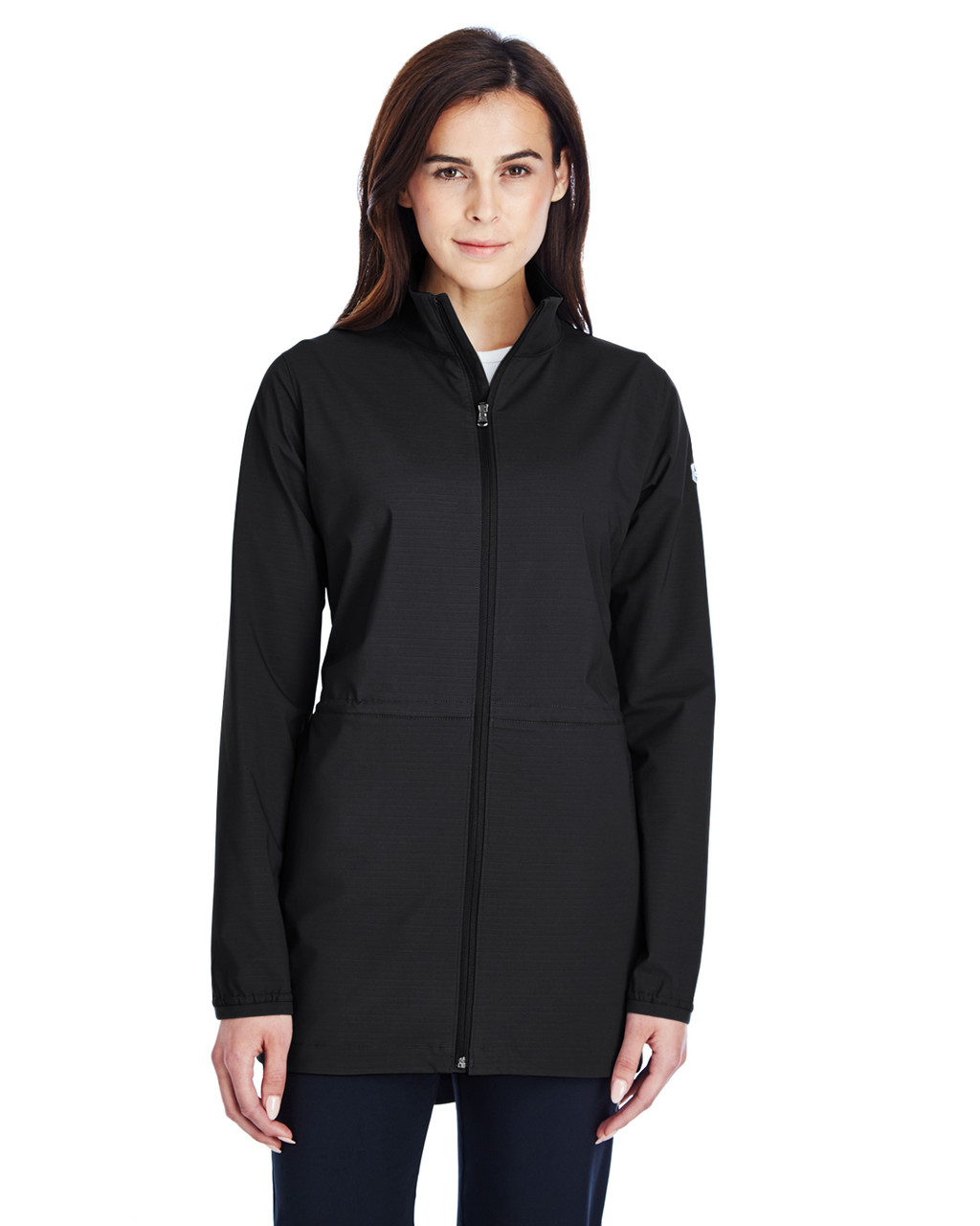 Black/White - 1317222 Under Armour SuperSale Ladies' Corporate Windstrike Jacket | BlankClothing.ca