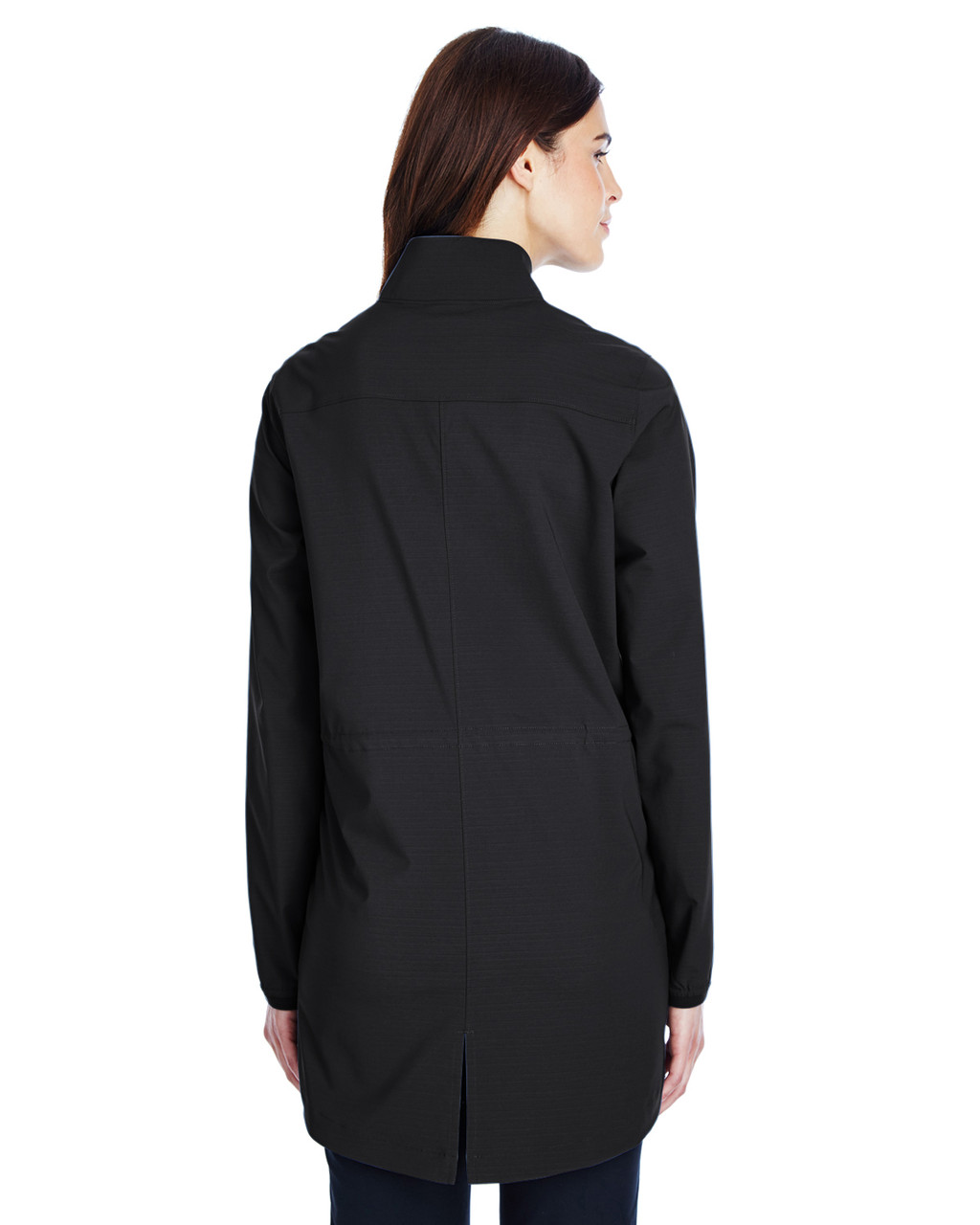 Black/White - Back, 1317222 Under Armour SuperSale Ladies' Corporate Windstrike Jacket | BlankClothing.ca