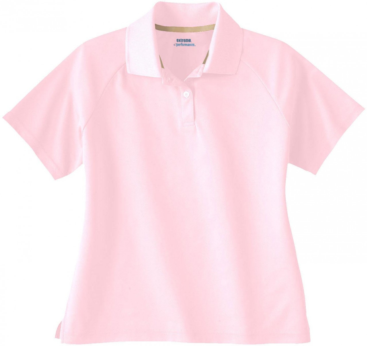 Powder Pink - 75046 Extreme Ladies' Eperformance Pique Polo Shirt | BlankClothing.ca