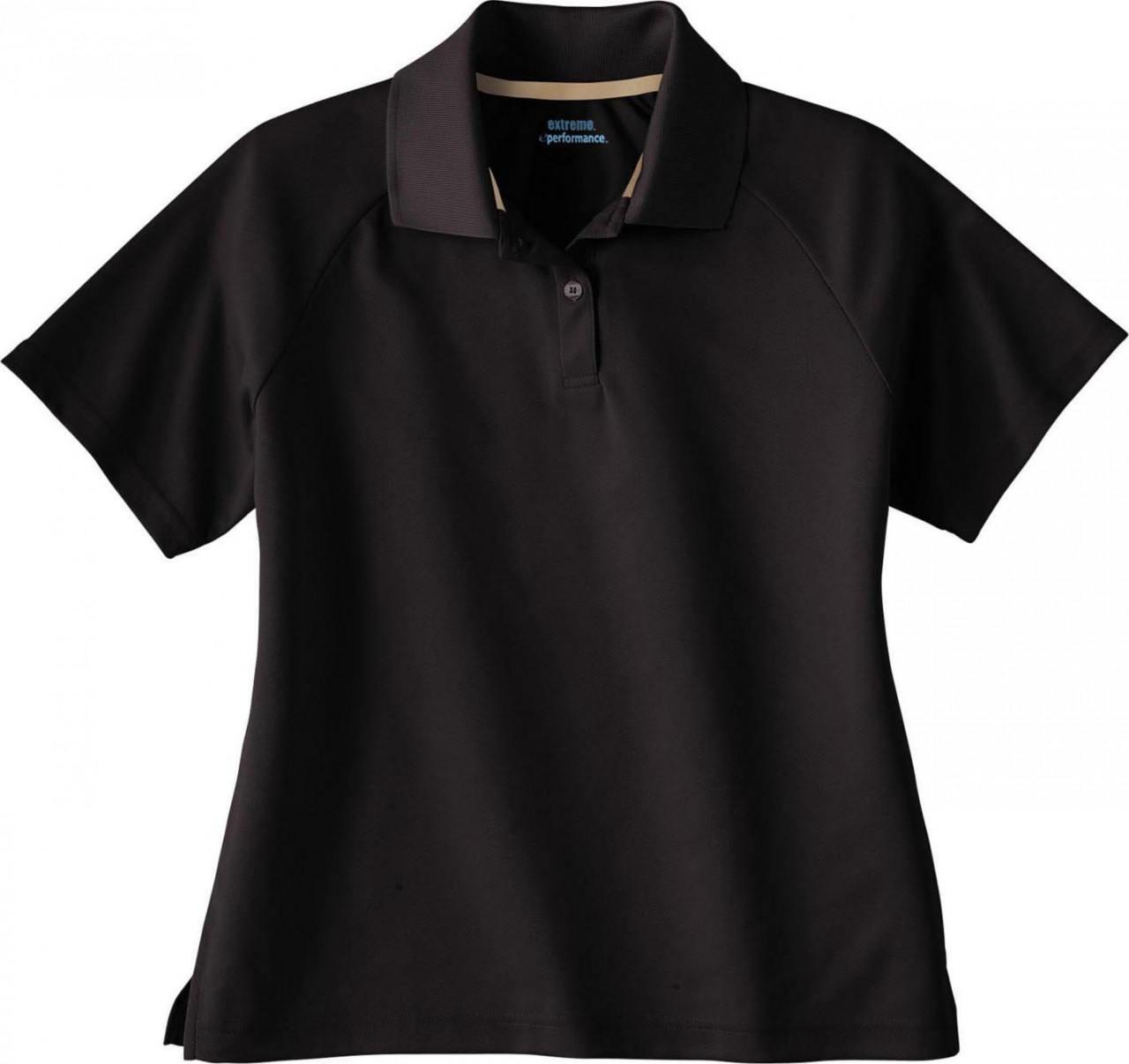 Black - 75046 Extreme Ladies' Eperformance Pique Polo Shirt | BlankClothing.ca