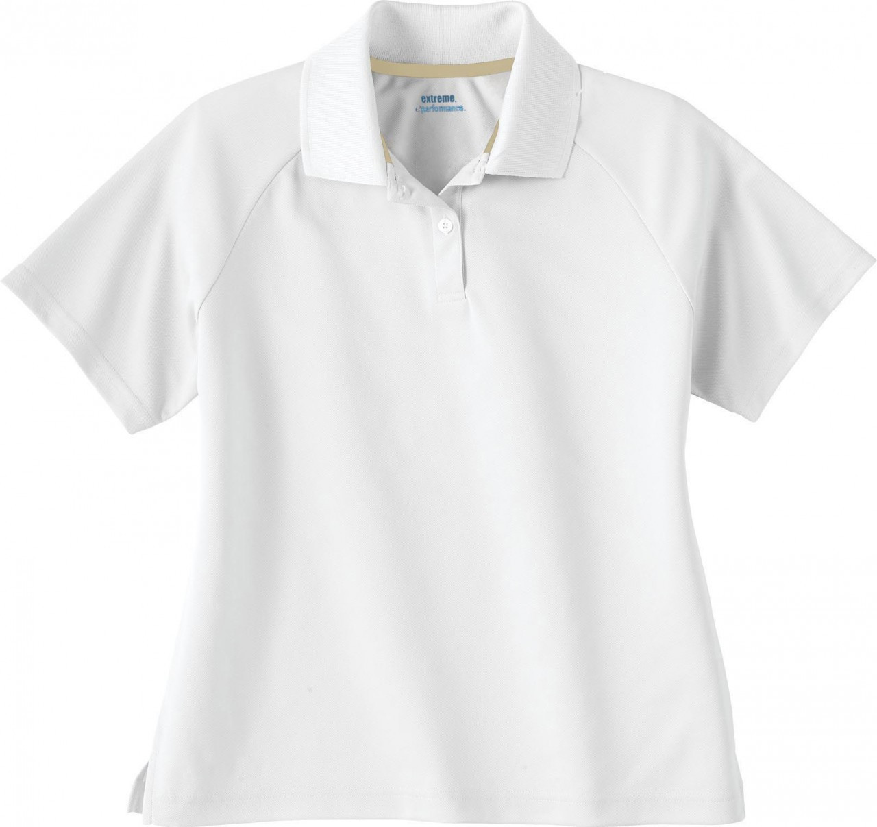 White - 75046 Extreme Ladies' Eperformance Pique Polo Shirt | BlankClothing.ca