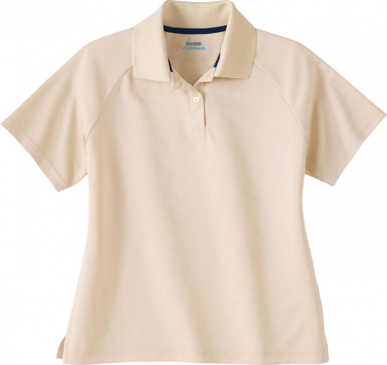 Sand - 75046 Extreme Ladies' Eperformance Pique Polo Shirt | BlankClothing.ca