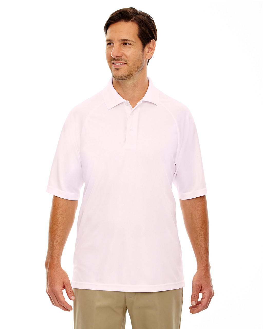 Powder Pink - 85080 Extreme Men's Eperformance™ Pique Polo Shirt