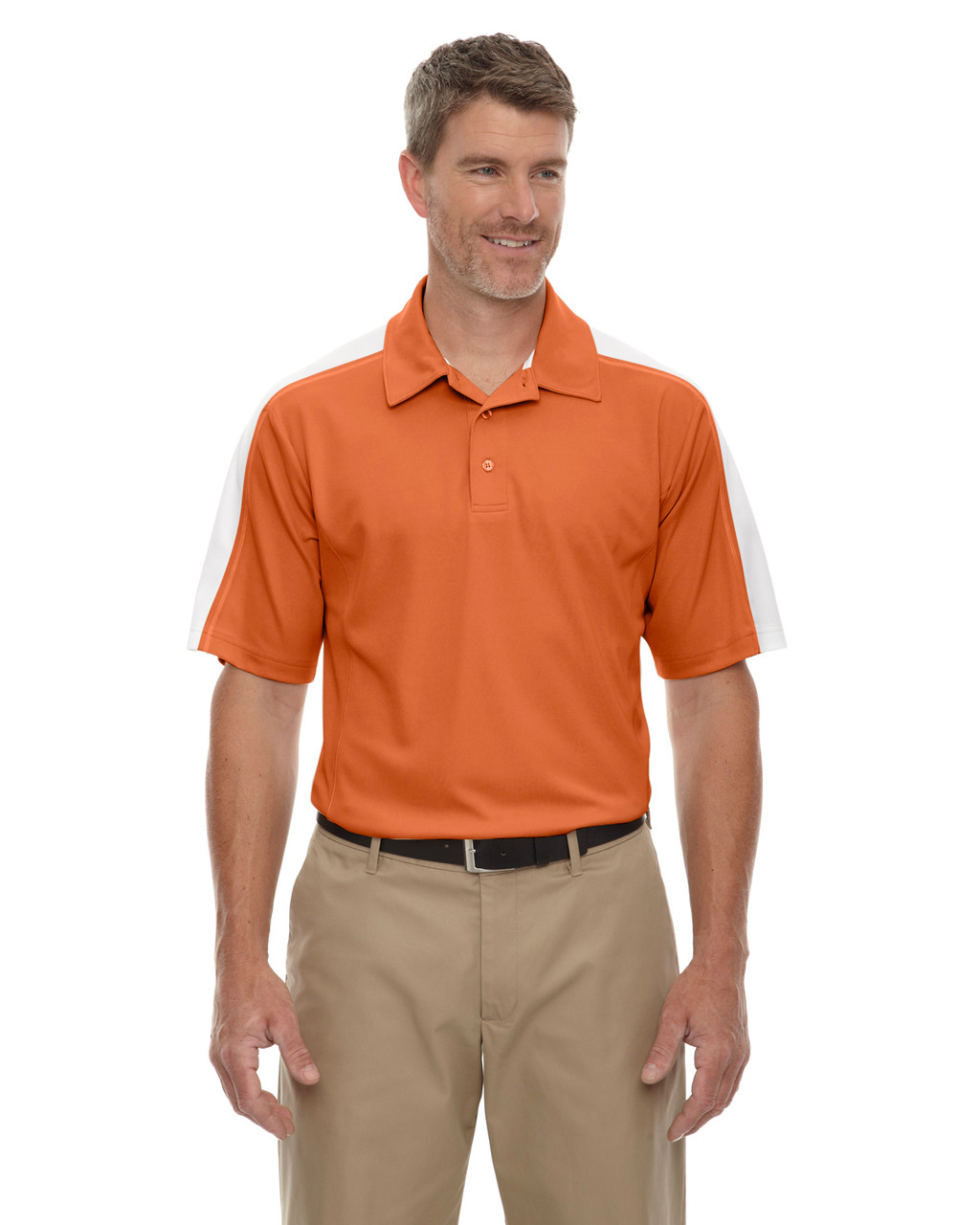 Hibiscus - 85089 Extreme Men's Eperformance Pique Color-Block Polo Shirt | BlankClothing.ca