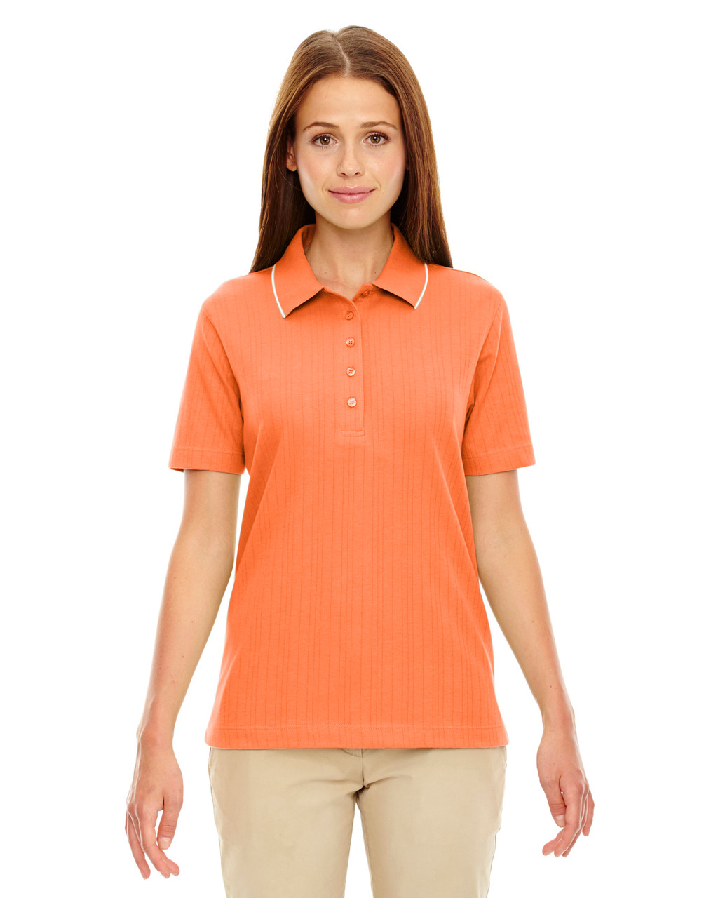 Hibiscus - 75045 Extreme Ladies' Edry™ Needle Out Interlock Polo Shirt | BlankClothing.ca