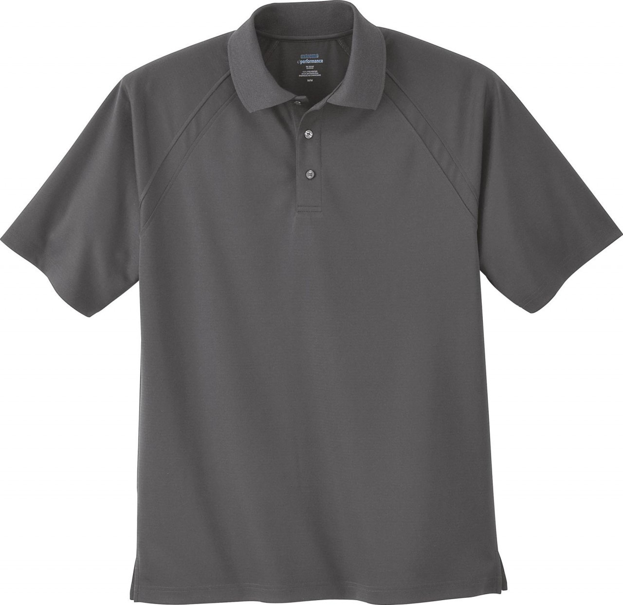 Black Silk -  85093 Extreme Men's Eperformance™ Ottoman Textured Polo Shirt | BlankClothing.ca