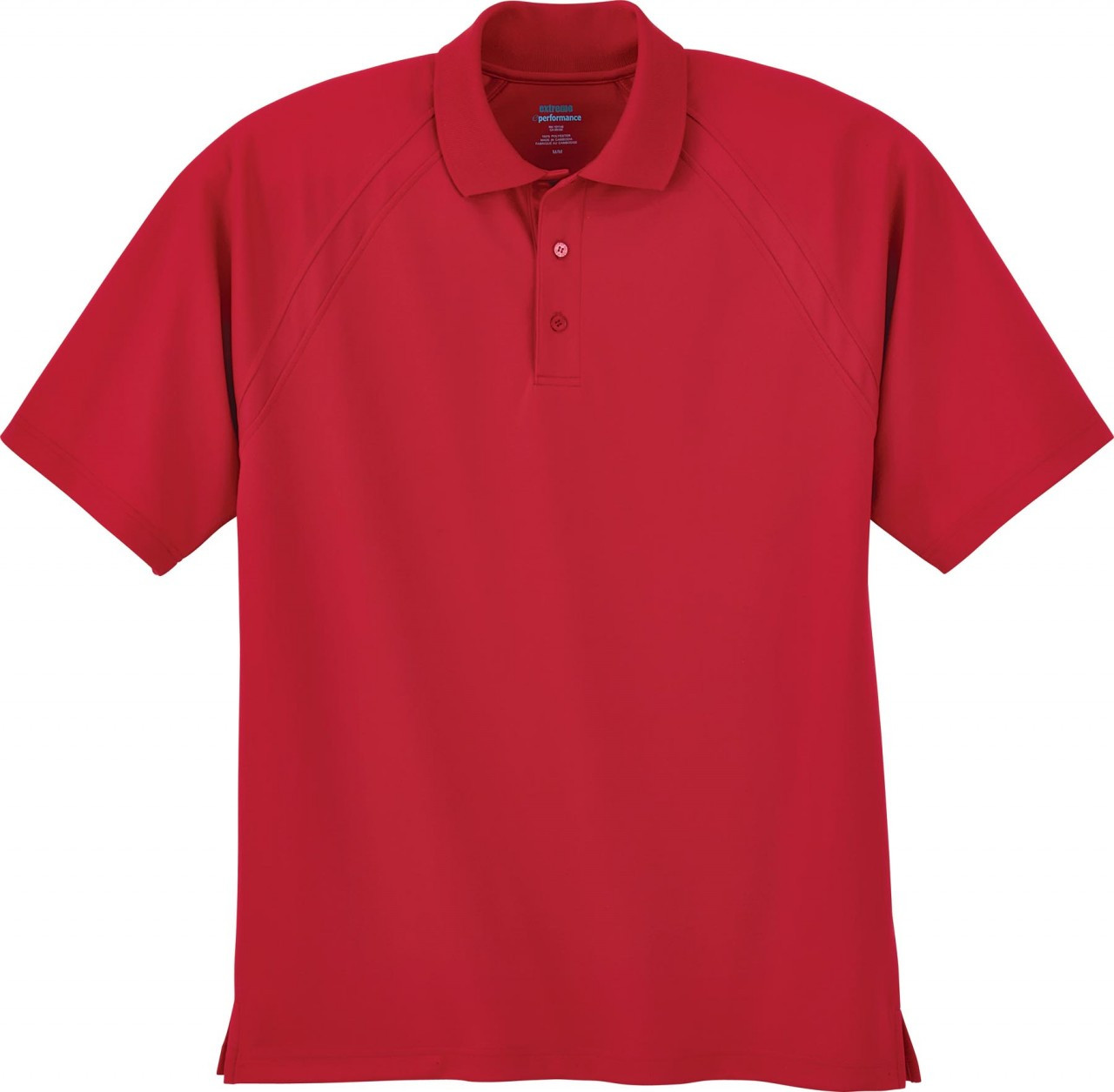Classic Red - 85093 Extreme Men's Eperformance™ Ottoman Textured Polo Shirt | BlankClothing.ca