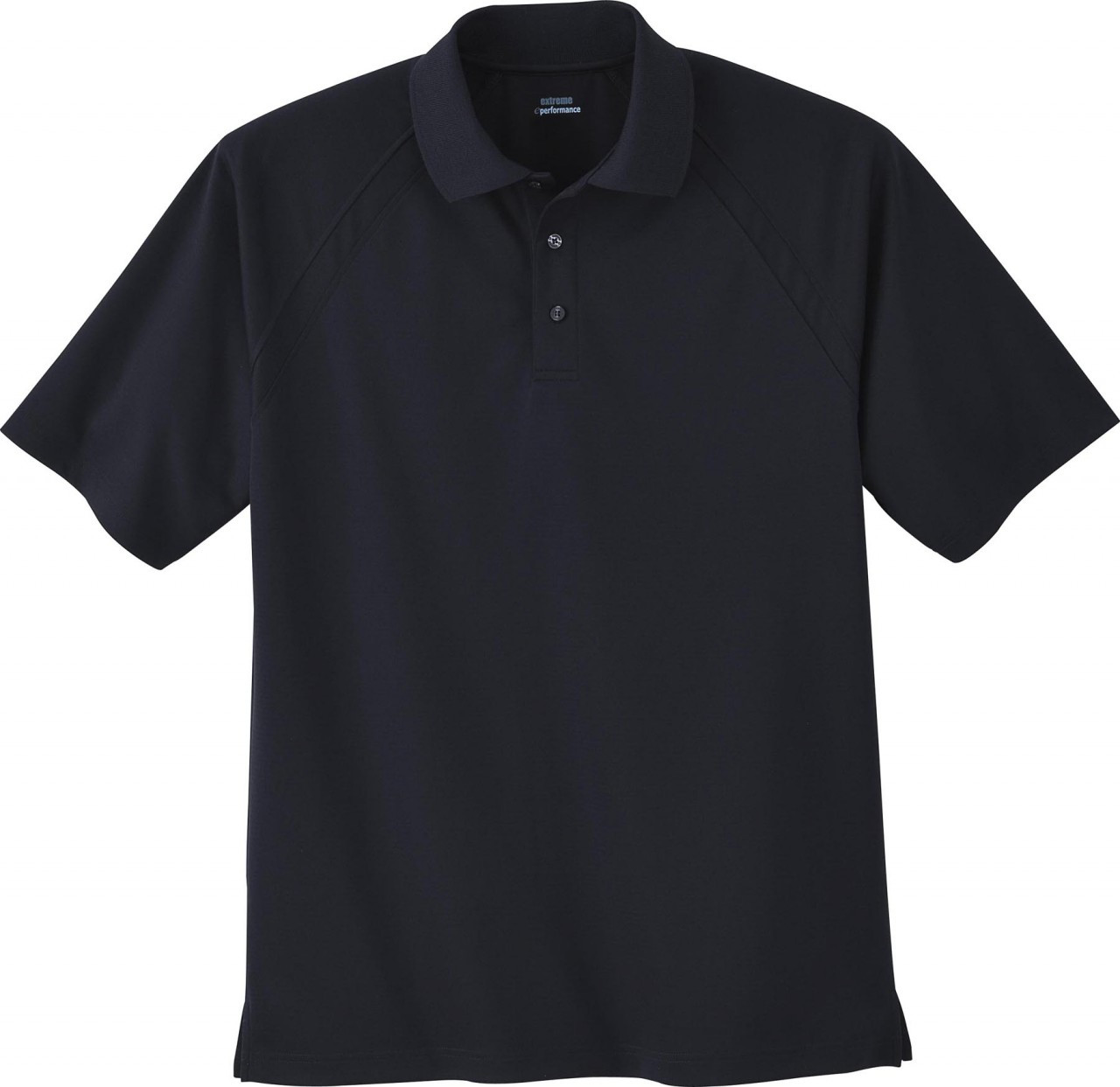 Black - 85093 Extreme Men's Eperformance™ Ottoman Textured Polo Shirt | BlankClothing.ca