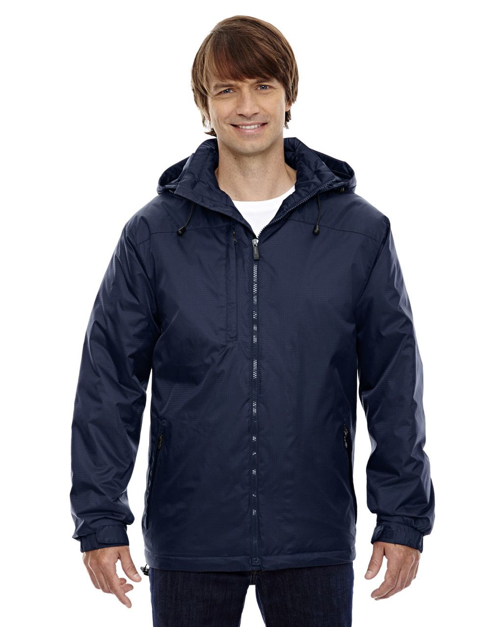 Midnight Navy - 88137 North End Men's Hi-Loft Insulated Jacket | Blankclothing.ca