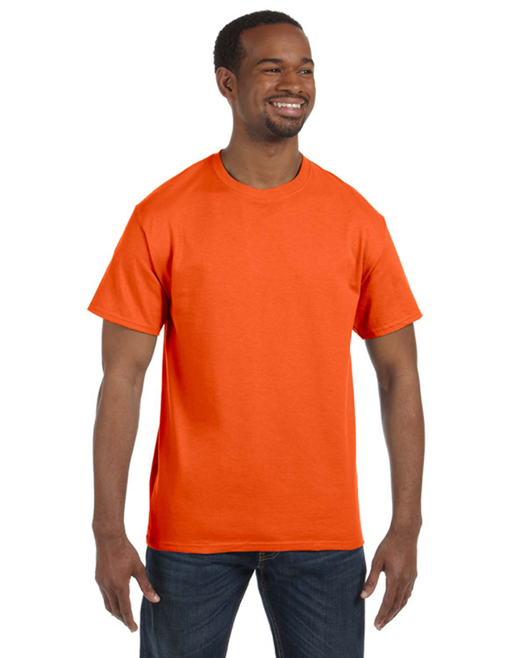 Safety Orange 29M Jerzees 50/50 Heavyweight Blend™ T-Shirt | Blankclothing.ca