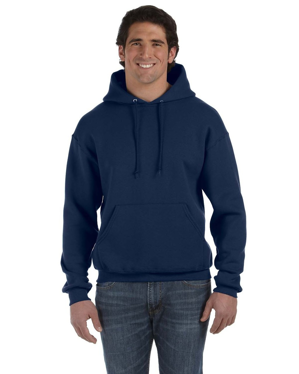 J. Navy - 82130 Fruit of the Loom Supercotton™ Pullover Hoodie | Blankclothing.ca