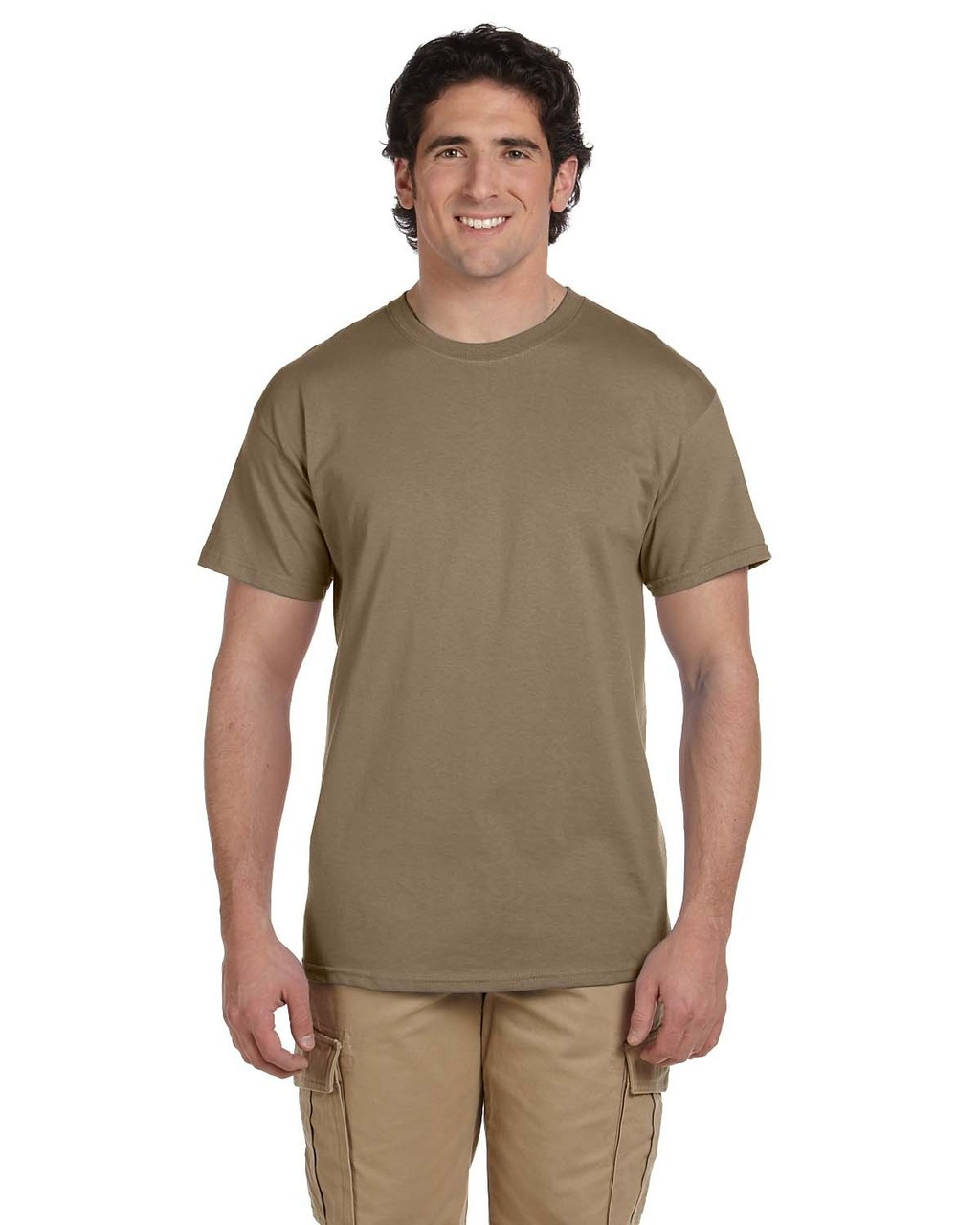 Safari - 3931 Fruit of the Loom 100% Heavy Cotton HD® T-Shirt | Blankclothing.ca