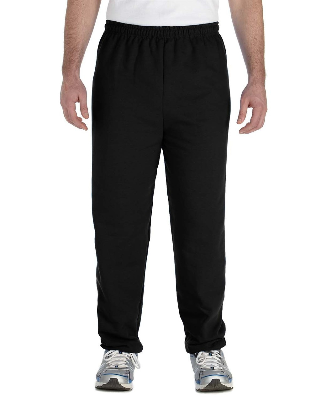 Black - G182 Gildan Heavy Blend Sweatpants | Blankclothing.ca