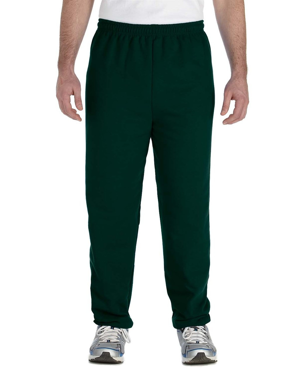 Forest Green - G182 Gildan Heavy Blend Sweatpants | Blankclothing.ca