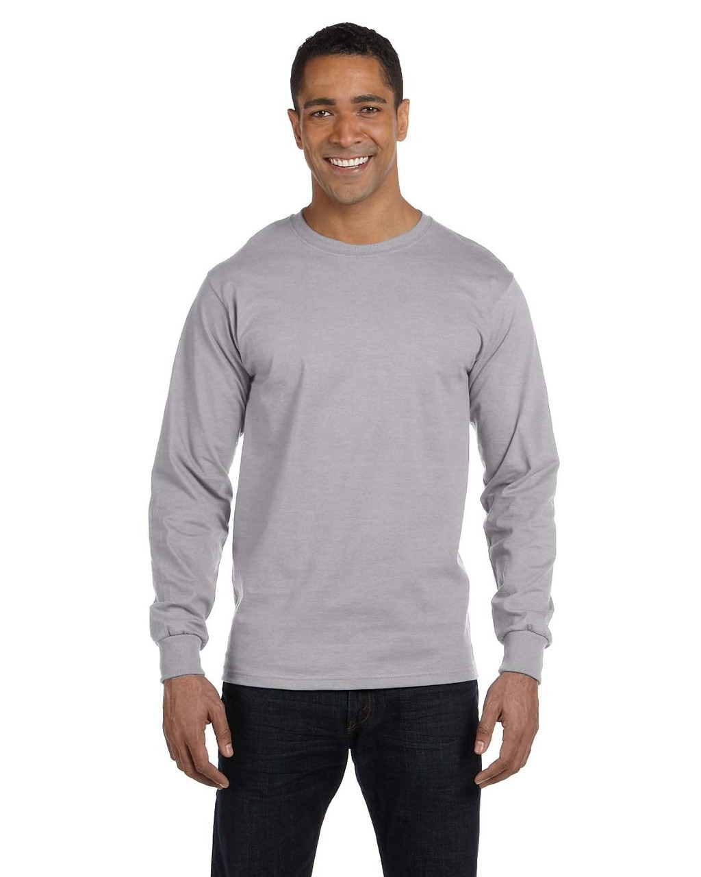 Sport Grey - G840 DryBlend 50/50 Long Sleeve T-Shirt