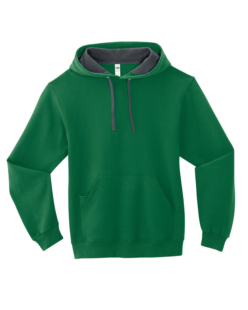 Clover - SF76R Fruit of the Loom Softspun Hooded Sweatshirt | Blankclothing.ca