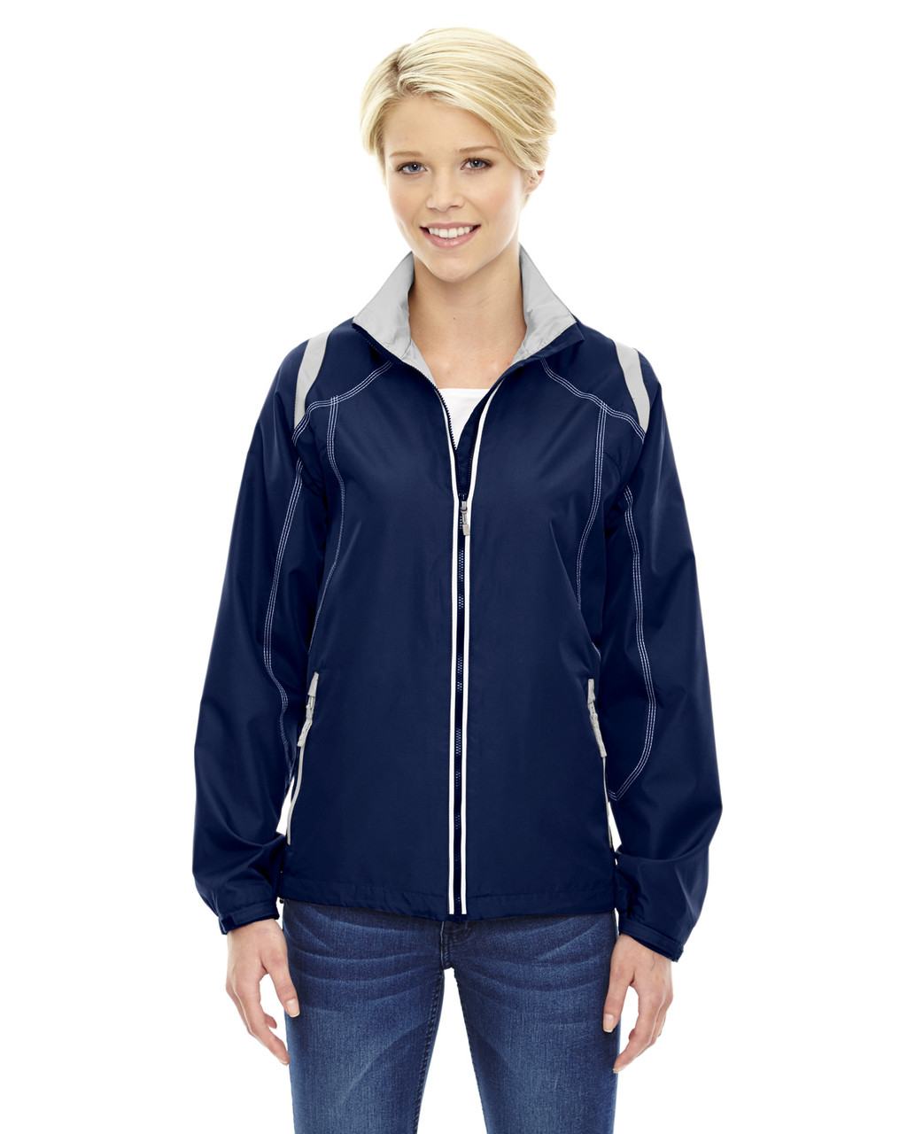 Night - 78076 North Ladies' Lightweight Colour-Block Jacket | Blankclothing.ca